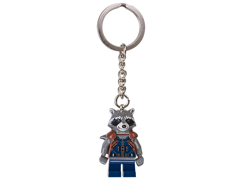 LEGO Marvel Super Heroes Rocket Keyring