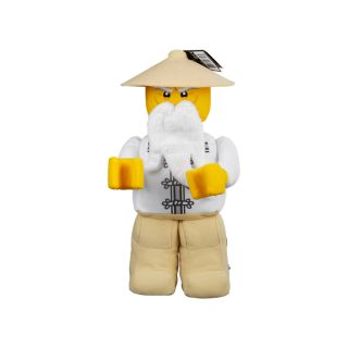 Meester Wu minifiguur van zachte stof