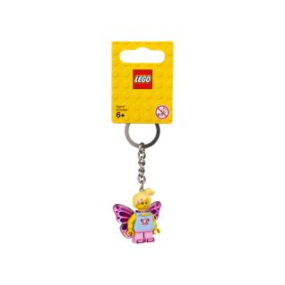 Butterfly Girl Keyring
