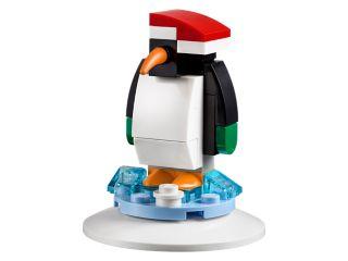 Svētku rotājums ar pingvīnu