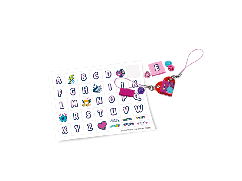 Friends Creative Bag Charms 853881 Friends Buy Online At The Official Lego Shop Ca