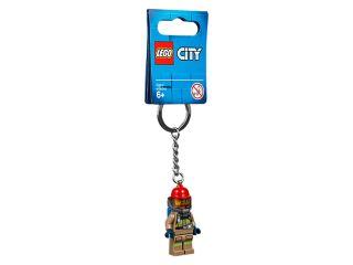 City Firefighter Keyring