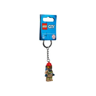 City Firefighter Key Chain