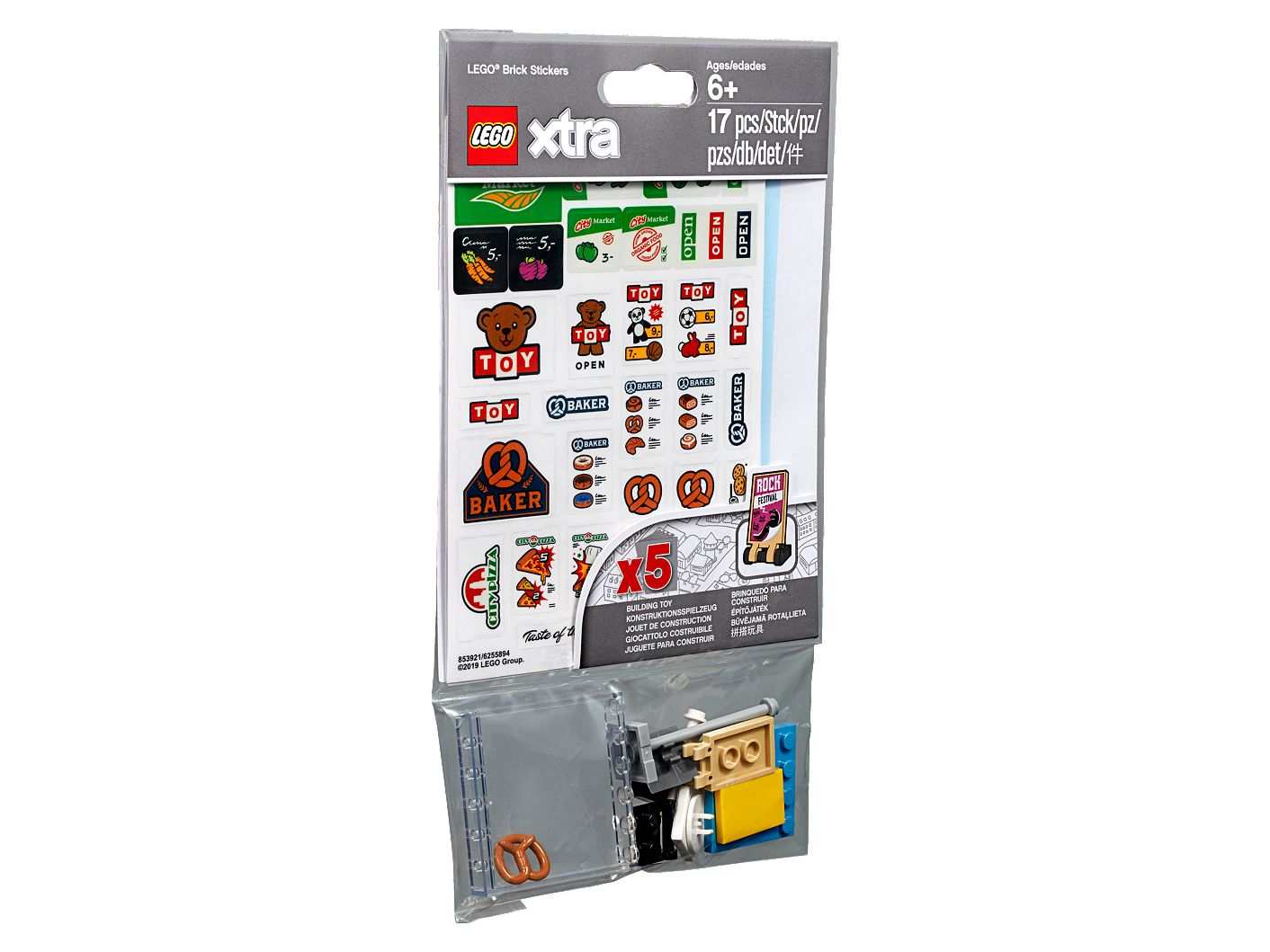 Lego Xtra Brick Stickers 853921 Xtra Buy Online At The Official Lego Shop Us