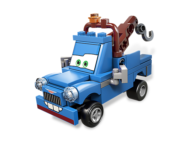 Build Tow Mater's super spy alter ego Ivan Mater and gather information to save the Disney® Pixar® Cars™ heroes from the trouble-making lemons!