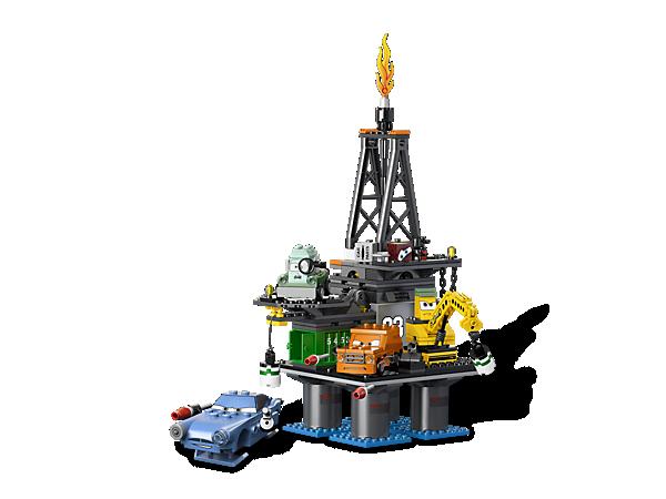 Go inside the secret headquarters of Professor Z's lemons to rescue Disney® Pixar® Cars™ hero Leland Turbo and escape before it's too late!
