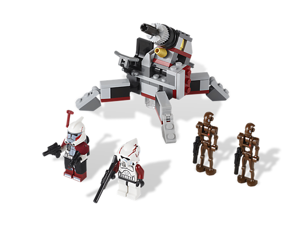 Arm the Republic clone troopers with the powerful artillery cannon and protect the galaxy from the Separatist's Droid Army!