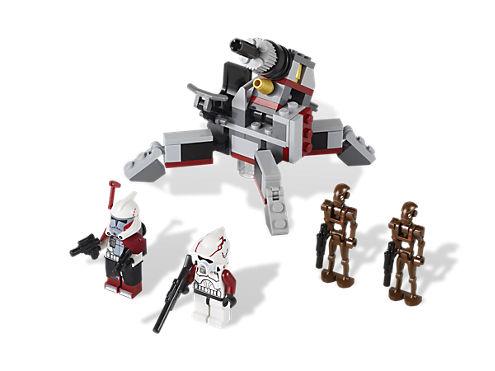 Elite Clone Trooper Commando Droid Battle Pack 9488 Star