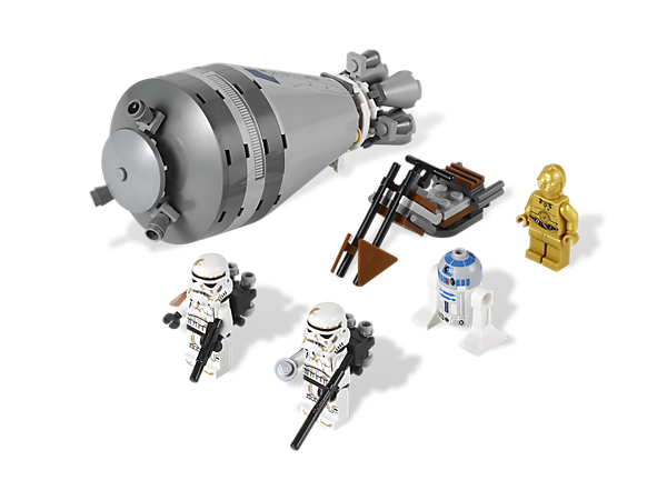 Help C-3PO and R2-D2 take the secret Death Star plans to Tatooine before the Imperial troopers can catch them!