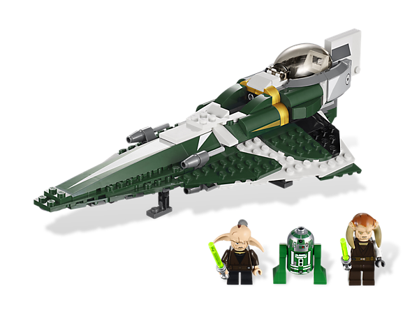 Patrol for Separatist forces aboard Saesee Tiin's Jedi Starfighter and, if the action gets too intense, prepare the escape pod for launch!