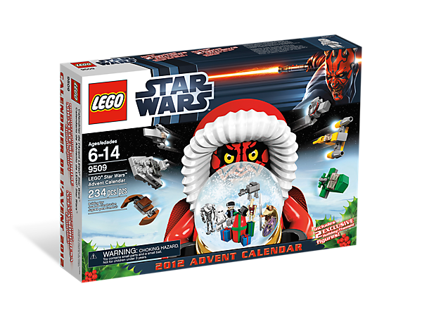 <p>Countdown to Christmas with the LEGO® <i>Star Wars</i>™ Advent Calendar, featuring 24 <i>Star Wars</i>-themed gifts!</p>