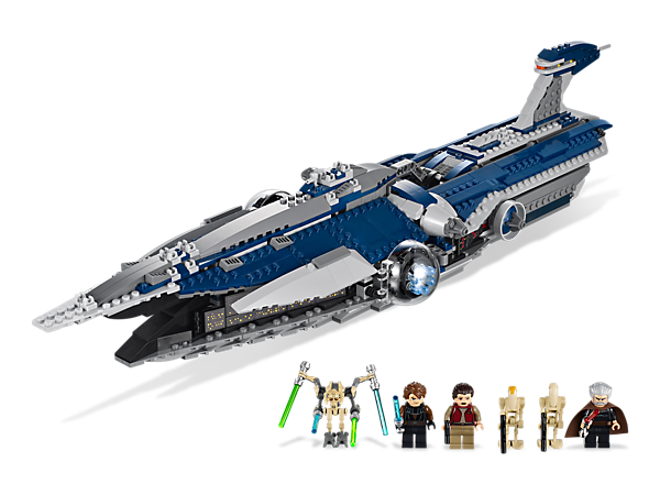 <p>Sneak aboard the <i>Malevolence</i>™ with Anakin Skywalker and Padmé Amidala to rid the galaxy of this greatly feared Separatist flying weapon.</p>