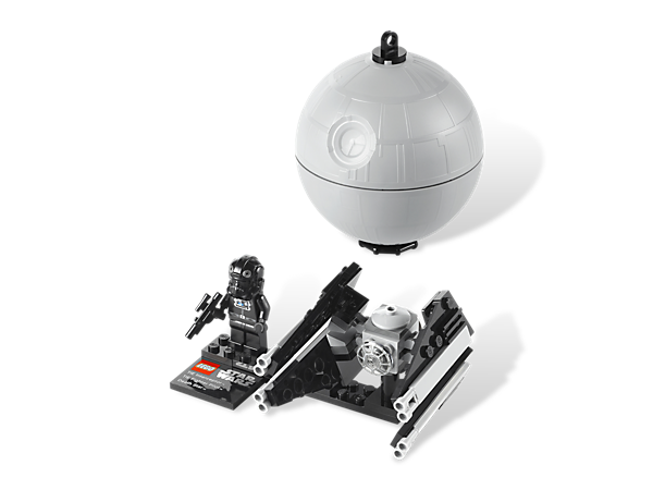 Crack open an accurate model of the Death Star to create a mini-model of the Imperial TIE Interceptor with display plaque and stand!