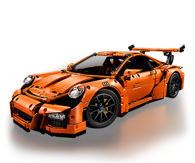 Build the LEGO® Technic Porsche 911 GT3 RS!